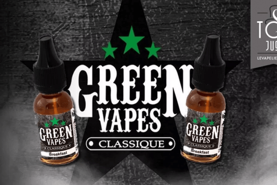 REVUE / TEST: Breakfast (Classic Range) by Green Vapes