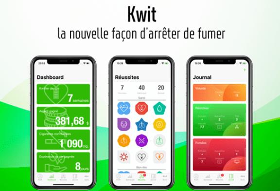 TECHNOLOGIE : Kwit, une application anti-tabac qui peut vous aider !