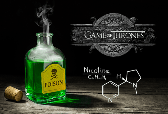 "INSOLITE: A parallel between Game Of Thrones' ""strangler"" poison and nicotine"