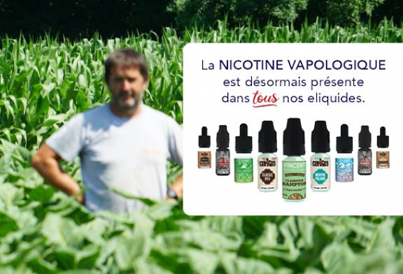 COMUNICADO DE PRENSA: VDLV extiende el uso de su Nicotine Vapologic a todos sus e-líquidos.