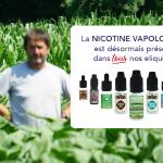 הודעה לעיתונות: VDLV מרחיב את השימוש של ניקוטין Vapologic שלו על כל נוזלים אלקטרוניים.