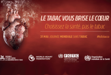 "HEALTH: Lung health honored for next ""World No Tobacco Day""."