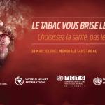 SANTÉ : La santé pulmonaire à l'honneur pour la prochaine «Journée mondiale sans tabac».