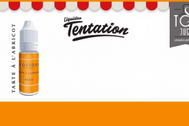 REVUE / TEST : Tarte à l'Abricot (Gamme Tentation) par Liquideo