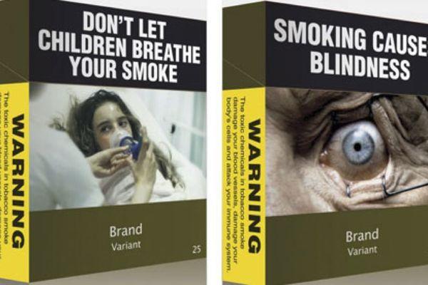 Les paquets de cigarettes seront tous bruns au Canada