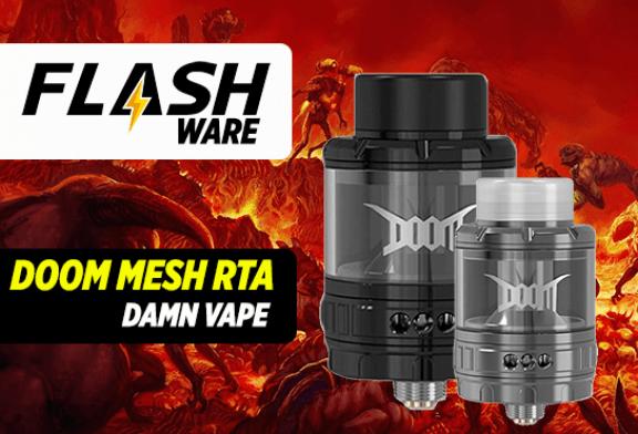 FLASHWARE: Doom Mesh RTA (Damn Vape)