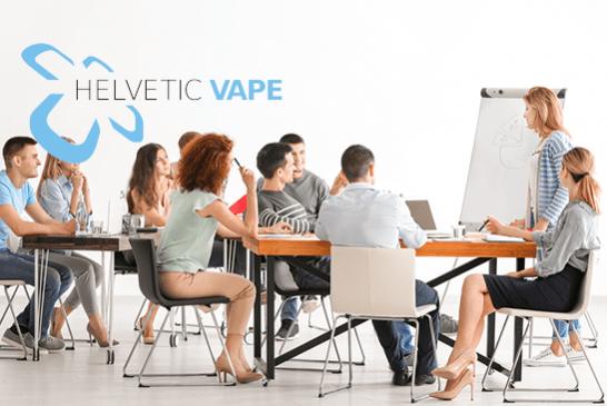 ШВЕЙЦАРИЯ: Helvetic Vape представляет новый комитет и предстоящие мероприятия!