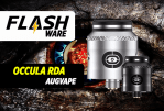 FLASHWARE: Occula RDA (Augvape / Twisted Messes)
