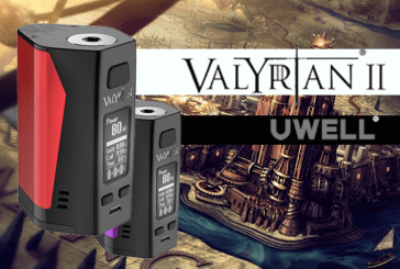 INFORMAZIONI SULLE LOTTE: Valyrian II 300W (Uwell)