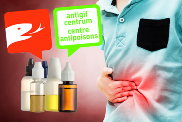 BELGIUM: Antipoisons center warns about the potential danger of intoxication with e-liquids!