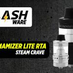 FLASHWARE: Aromamizer Lite RTA (Steam Crave)