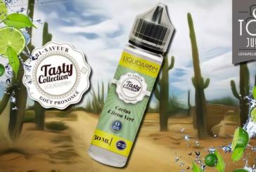 REVUE / TEST : Cactus/Citron Vert (gamme Tasty) par Liquidarom