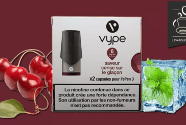 REVIEW / TEST: Cherry on the Ice cube by Vype