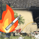 SOCIETY: An e-cigarette charger causes a fire in a house!