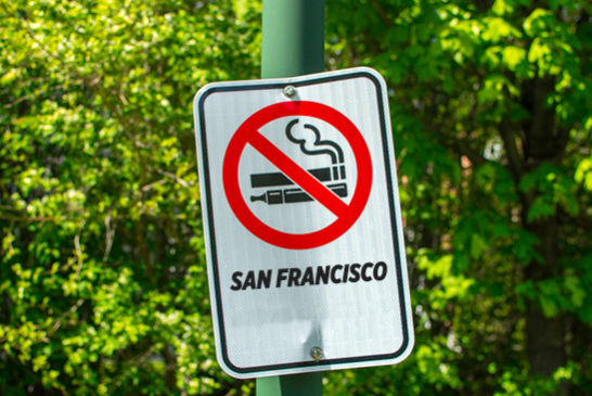 VERENIGDE STATEN: In San Francisco laten we de stoned toe maar stoppen we met roken!