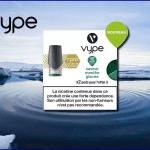 REVUE / TEST : Menthe Glacée (Gamme Vpro) par Vype