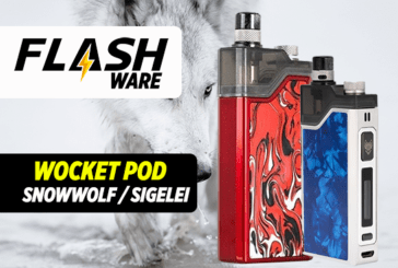 FLASHWARE: Snowwolf Wocket Pod 25W (Sigelei)