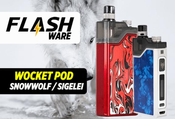FLASHWARE: Snowwolf Wocket Pod 25W (Sigelei)