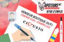 ΠΡΟΣΦΟΡΑ ΕΡΓΟΥ: Πωλητής καταστημάτων - Cigusto - Etampes (91)