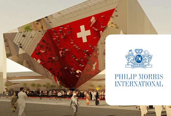 TOBACCO: Philip Morris, main funding of the Swiss pavilion for the Dubai World Expo!