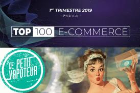 הכלכלה: Vapoteur הקטן ב 100 TOP של מסחר אלקטרוני צרפתי.