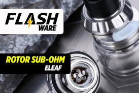 FLASHWARE: Serbatoio sub-ohm rotore (Eleaf)