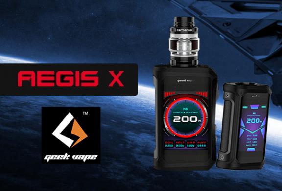 INFO BATCH : Aegis X 200W (Geekvape)