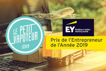 ECONOMY: French e-cigarette leader, Le Petit Vapoteur is a candidate for the EY Ouest Entrepreneur Award!