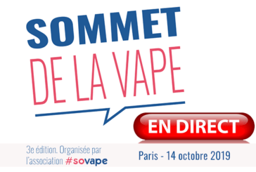 LIVE: The day's proceedings at the 3me Sommet de la Vape!