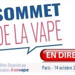 LIVE: De dag van de procedure op de 3me Sommet de la Vape!