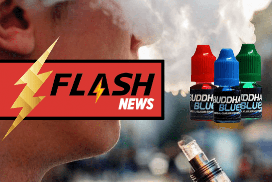 "FRANCE: The e-cigarette used by young people to consume ""Buddha Blue""!"