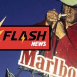 אנשים: מותו של איש מרלבורו, הקאובוי המפורסם של מודעות הסיגריות.