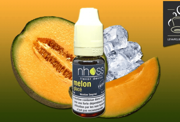 REVUE / TEST: Frozen Melon (Fresh Fruity Range) di Nhoss
