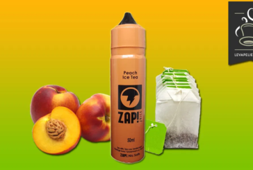 REVUE / TEST : Peach Ice Tea (Gamme ZAP! 50ml) par ZAP JUICE