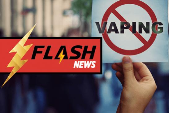 ESTADOS UNIDOS: legisladores de Nueva Jersey preparan prohibición de sabores para vape