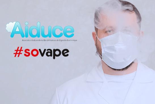 COVID-19: больше нет подозрений на коронавирус в вейперах согласно опросу AIDUCE