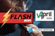 E-CIGARETTE: Vapotage בצרפת מכריזה על שותפות עם VAPRIL 2020!