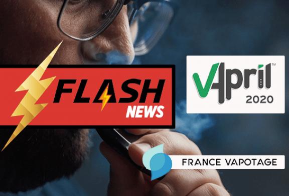 E-CIGARETTE: France Vapotage announces a partnership with VAPRIL 2020!