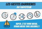COVID-19: gesti barriera specifici per vapers e negozi di vaporizzatori!