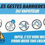 COVID-19: Специальные барьерные жесты для вейперов и вейп-магазинов!