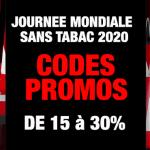 PROMOS : De 15% à 30% de réduction sur la vape, profitez-en pour arrêter de fumer !