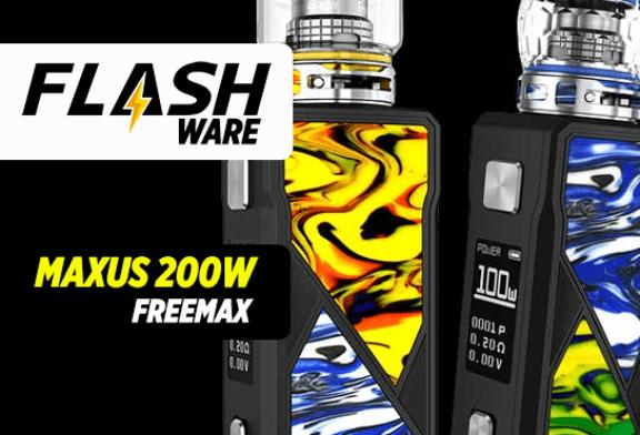 FLASHWARE: מקסוס 200W (Freemax)
