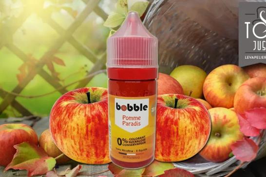 ОБЗОР / ТЕСТ: Райское яблоко (Fruity Range) от Bobble