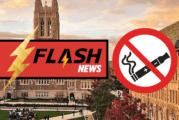 ETATS-UNIS : Le vapotage et le tabagisme interdit au Boston College à partir du mois d'Août.