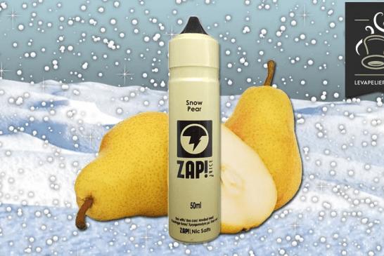 RECENSIONE / PROVA: Snow Pear di ZAP JUICE