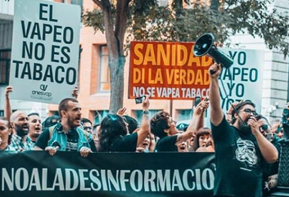 SPAIN: UPEV files a complaint following the incessant attacks on the vaping of the Ministry of Health