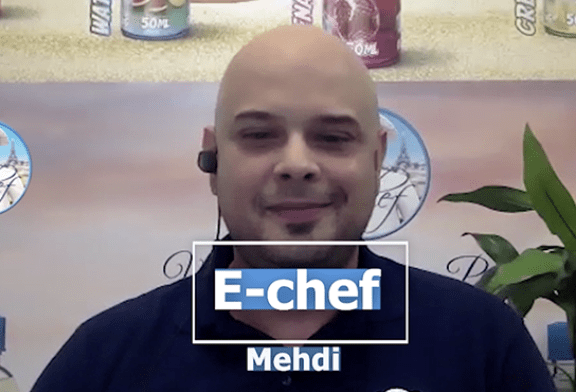 ЭКСПРЕССО - Эпизод 4 - Мехди Хаджадж (Francovape / E-chef)