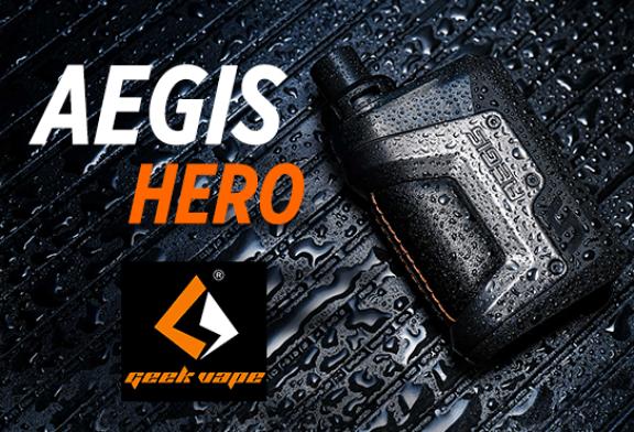 INFORMAZIONI SUL BATCH: Aegis Hero (Geek Vape)