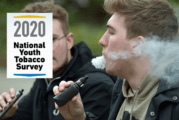 UNITED STATES: 1,8 million fewer young vapers between 2019 and 2020.