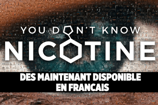 "CULTUUR: De documentaire ""You Don't Know Nicotine"" is nu beschikbaar!"